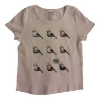 Camiseta passarinho GAP 3T (perfeita, usada 2x) - 3 anos - GAP