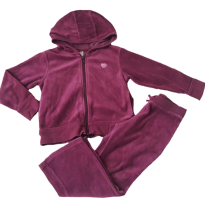 Conjunto agasalho plush roxo Old Navy 4T (confortável, lindo e quentinho) - 4 anos - Old Navy (USA)