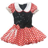 Vestido fantasia Minnie tam 3-4 anos (feira por costureira, super chique) - 3 anos - Feita por costureira
