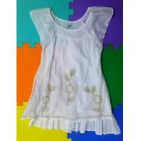 Vestido branco Zara Girl 4-5 anos (maravilhoso, exclusivo, perfeito) - 4 anos - Zara