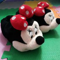 Pantufa Minnie Disney tam 26/27 (quentinha e confortável) - 27 - Disney