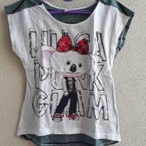 Blusa/camiseta Lilica tam 4 infanto (muito fofa) - 4 anos - Lilica Ripilica