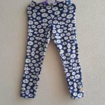 Calça legging floral Lilica Ripilica tam 4 (graciosa, pra toda hora) - 4 anos - Lilica Ripilica