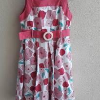 Vestido festa rosa Youngland 4T (lindissimo, uma fofura) - 4 anos - Youngland