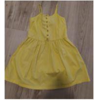 Vestido amarelo Forever21 tam 6 (pensa numa delicadeza de vestido:) - 5 anos - Forever 21