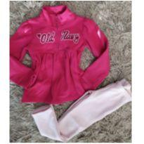 Blusa Fleece pink Old Navy 5T (gostosa e confortável) - 5 anos - Old Navy