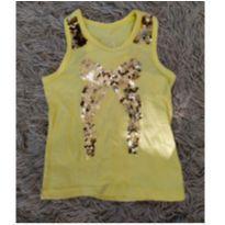 Blusinha laço amarela Palomino tam 4 (fofura) - 4 anos - Palomino