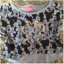 Cropped Minnie Disney tam 6 (bem moderninho) - 5 anos - Disney