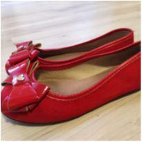 Sapatilha vermelha Molekinha Tam 28 (encantadora) - 28 - Molekinha