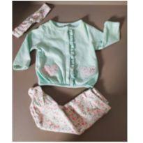 Conjunto bebê corujinha Carters 3 peças - 0 a 3 meses - Child of Mine