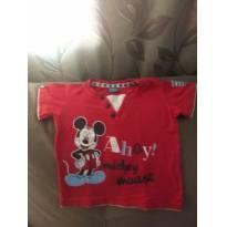 Camiseta Disney - 6 a 9 meses - Disney
