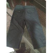 Calça preta estilo social - 1 ano - Não informada