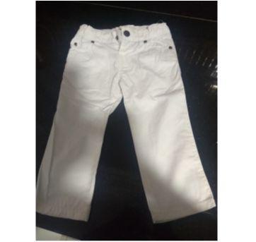 Calça Branca - 12 a 18 meses - Zara Baby