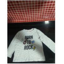 Camiseta zara manga longa - 18 a 24 meses - Zara Baby