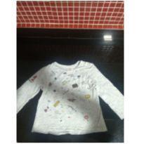 Camiseta manga longa - 18 a 24 meses - Zara Baby