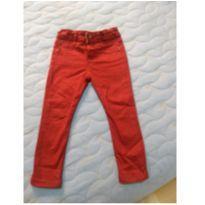 Calça jeans vinho - 2 anos - Baby Club