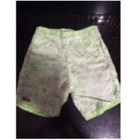 Shorts verde - 1 ano - Não informada