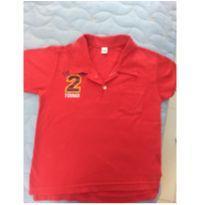 Camiseta gola polo - 2 anos - Toing Kids