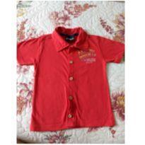 Camiseta com botão - 2 anos - Cativa