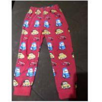 Calça pijama vermelha - 4 anos - Não informada
