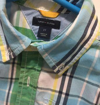 Camisa Tommy - 2 anos - Tommy Hilfiger