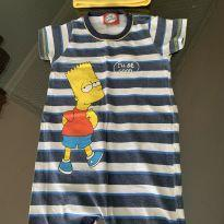 Tip Top Simpsons com Toquinha - 9 a 12 meses - Simpsons