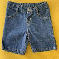Bermuda Jeans - 9 a 12 meses - Hering Baby