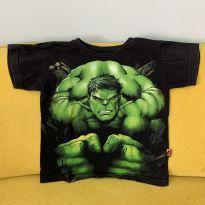 Camiseta do Hulk - 2 anos - Piticas