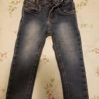 Calça jeans slim Denin. Super chic! - 2 anos - Denim