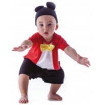 Fantasia Mickey Baby 9 a 12 meses - 9 a 12 meses - Não informada ( Replica)