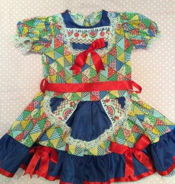 Vestidos para festa junina infantil