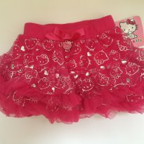 Mini saia tutu  Hello kitty PINK - 18 meses - 18 meses - Hello  Kitty