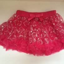 Mini saia tutu hello kitty PINK - 4t - 4 anos - Hello  Kitty