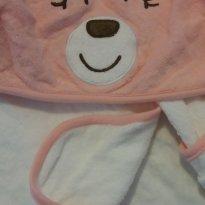 Toalha de banho bebe Carters urso rosa - Sem faixa etaria - Carter`s