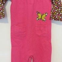 Macacão  Carters  - Pink borboleta - 9 meses - Carter`s