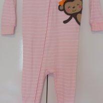 Macacão / Pijama - Carters malha-  Macaquinha - 18 meses - 18 meses - Carter`s