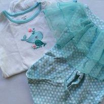 Pijama Carters - calça tutu - 2 anos - Carter`s