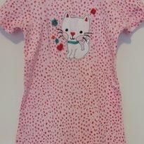 Macacão / Pijama -  Malha - gatinha  - 18 meses - 18 meses - Importado