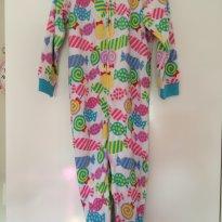 Macacão Pijama fleece - 4t - 4 anos - Importado
