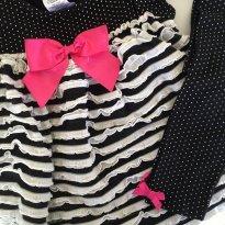 conjunto BONNIE BABY  - poá - 18 meses - Bonnie Baby