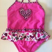 Maio Tip top - pink coração - - 3 anos - Tip Top