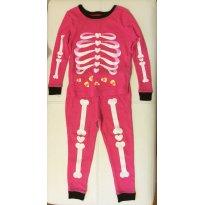 Pijama esqueleto pink - EUA - 2 anos - Importado