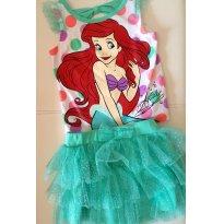 saia tutu e blusa Ariel- Disney Eua - 2 anos - Disney