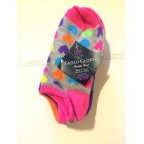 Kit 5 meias  coloridas - Faded Glory - Sem faixa etaria - Faded Glory (EUA)