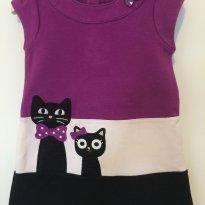 Vestido Gymboree - gatinhos  + brinde 2 calças - 3 anos - Gymboree