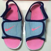 Sandália/ Papete - Nike - rosa e azul - 24 - Nike