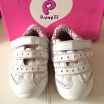 Tênis pampili branco - 25 - Pampili
