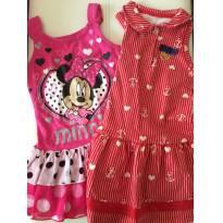 2 vestidos verão - Milon + Disney - 2 anos - Disney e Milon