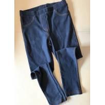 Calça legging jeans  - slim -  ZARA - 6 anos - Zara