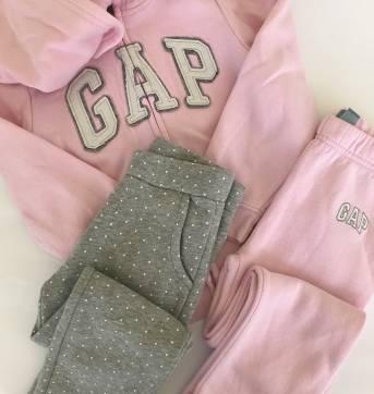 Conjunto - Agasalho Gap - 1 casaco + 2 calças - 5 anos - GAP